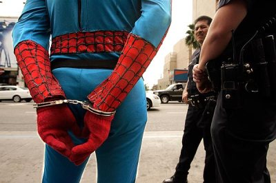 spider-man arrested 2